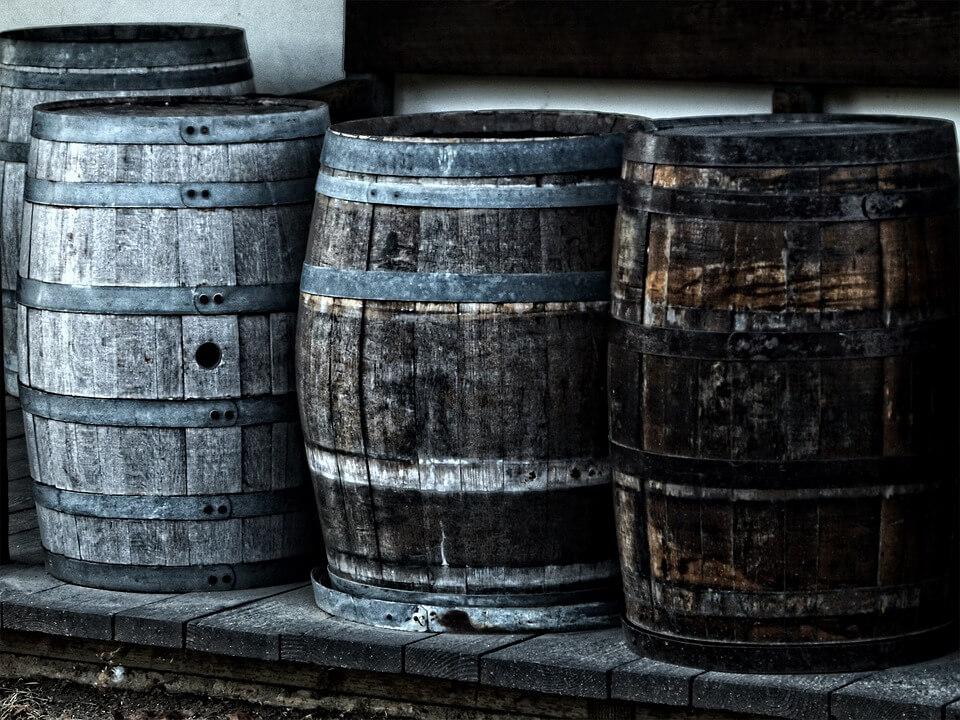 Le botti usate da chi ha inventato la birra