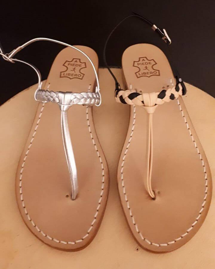 le proposte del brand A Piede Libero per la moda sandali 2020