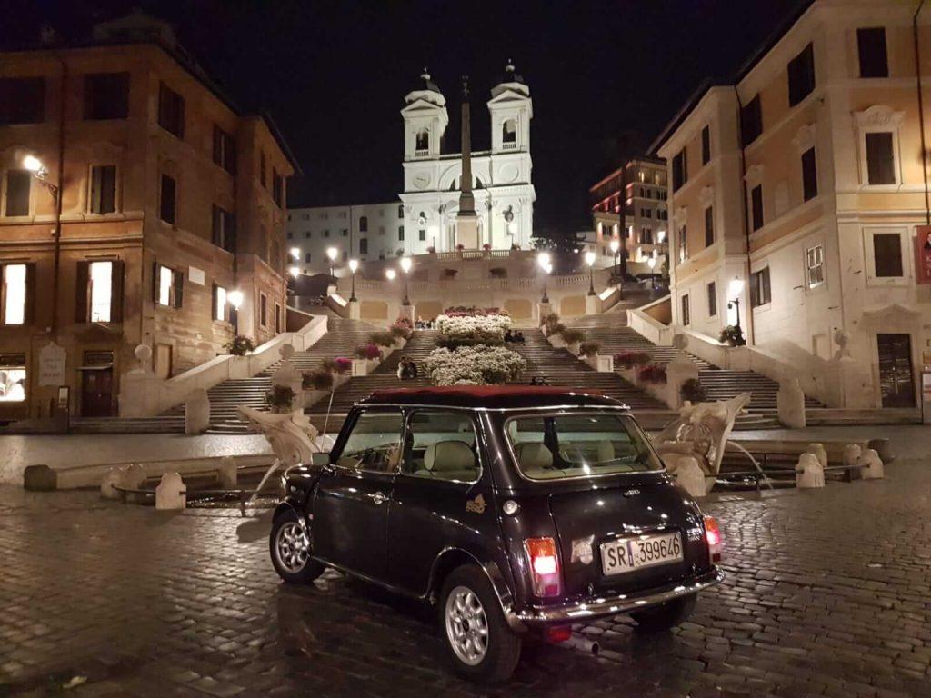 visitare Roma in auto d'epoca