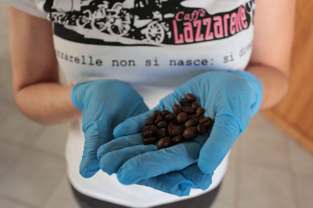 chicchi del miglior caffè artigianale