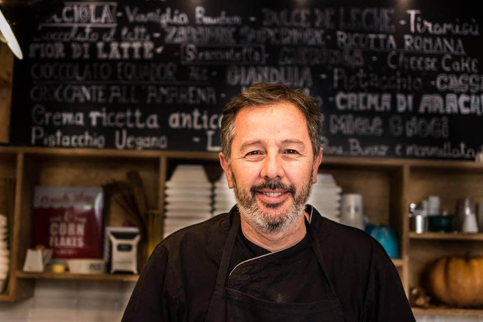 Gustavo Fabian Sosa  della gelateria a Roma Pico
