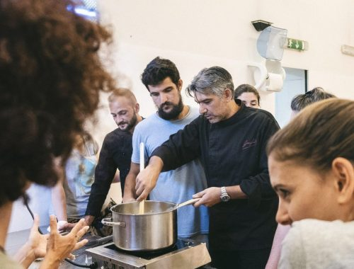 Lo chef Francesco Gambino di Cotti in Fragranza