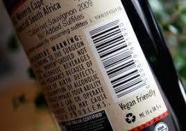 etichetta vno vegano