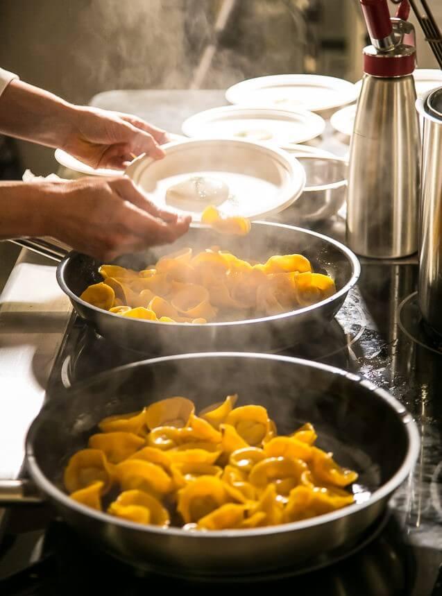 un cooking show di Pasta Excellence 2020