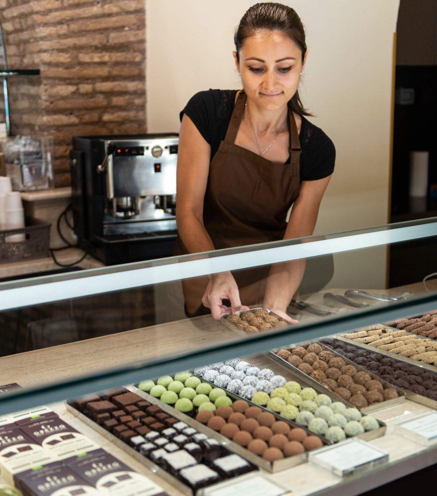 Grezzo, cioccolateria Roma