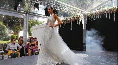 a bride in Rome