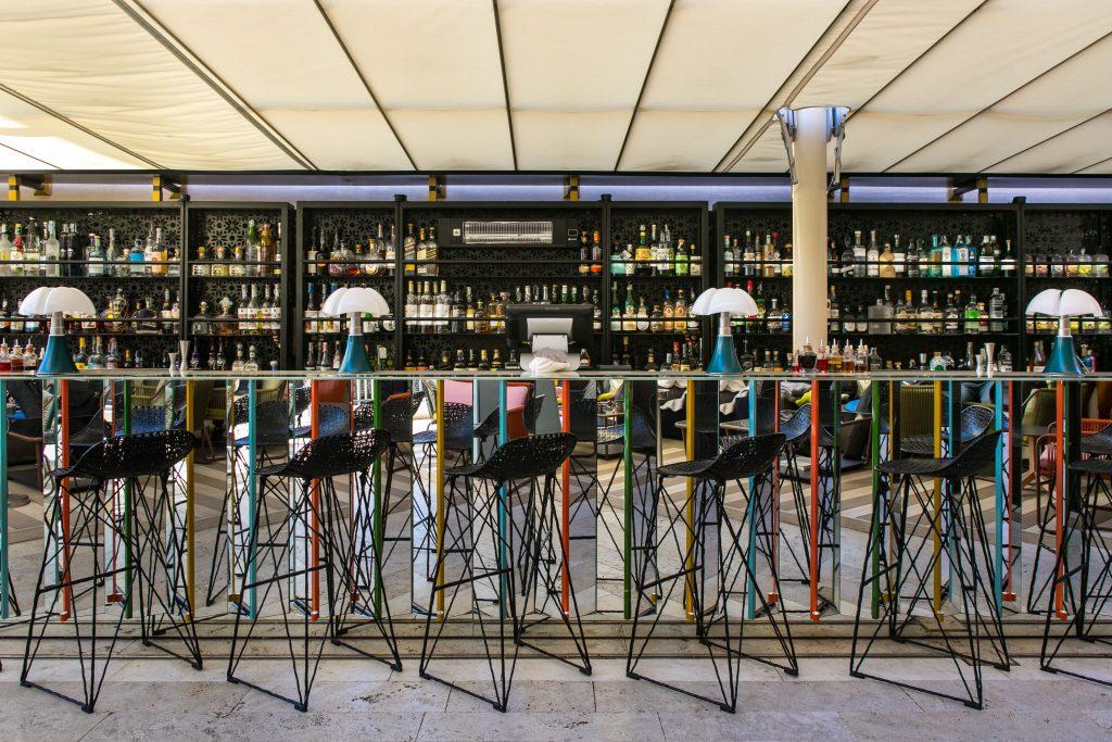 il cocktail bar di Roma The Court