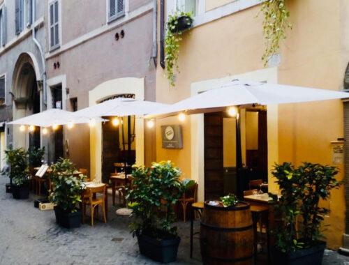 il ristorante gourmet Bottega Tredici a Roma