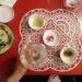 la mise en place del ristorante pugliese Pashà